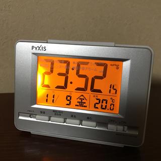電波修正機能付き目覚まし置き時計