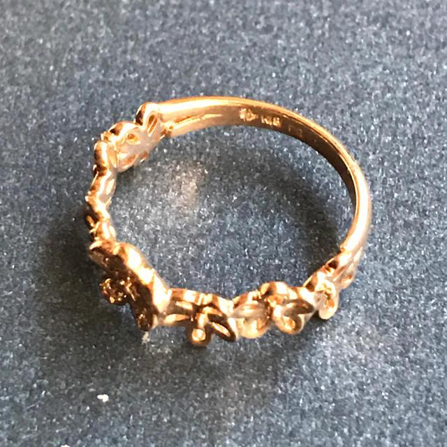 PonteVecchio(ポンテヴェキオ)のポンテヴェキオ K18 ピンクゴールド ダイヤモンド Ponte Vecchio レディースのアクセサリー(リング(指輪))の商品写真