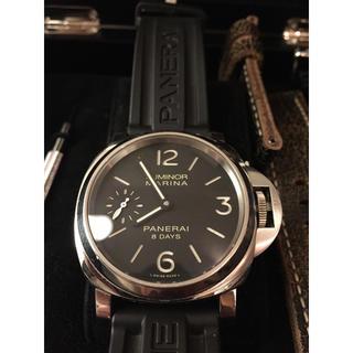 オフィチーネパネライ(OFFICINE PANERAI)のパネライ  ルミノール マリーナ 8デイズ PAM00510 美品(腕時計(アナログ))