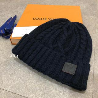 ルイヴィトン(LOUIS VUITTON)のルイヴィトン カシミア ニット帽 ボネ・LVサークル(ニット帽/ビーニー)
