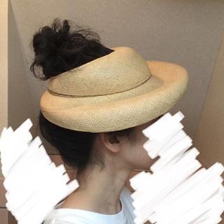 ロキエ(Lochie)のvintage 麦わら帽子(麦わら帽子/ストローハット)