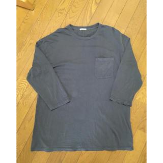 ジーユー(GU)のGU ウォッシュドビッグシルエットTシャツ (Tシャツ/カットソー(七分/長袖))