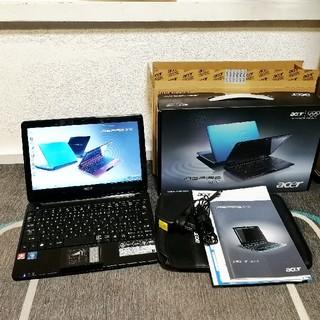 エイサー(Acer)のacer Aspire one 722-N52C/K ノートパソコン 付属品(ノートPC)