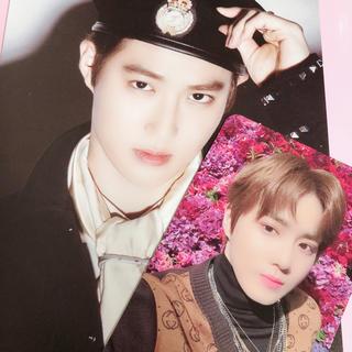 エクソ(EXO)のEXO スホ トレカ ポストカード セット(K-POP/アジア)