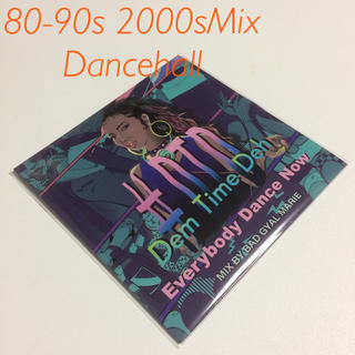 #DTD-Dem time Deh 90s-2000 Mix レゲエ CD(ワールドミュージック)