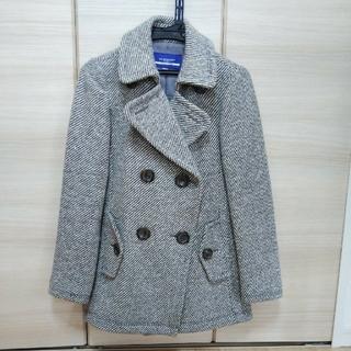 バーバリーブルーレーベル(BURBERRY BLUE LABEL)のバーバリーブルーレーベル☆冬コート(ピーコート)