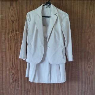 トランスワーク(TRANS WORK)の👔TRANS WORK*スーツ/ジャケット・スカート/オフ白/38(スーツ)