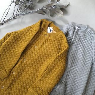 キャラメルベビー&チャイルド(Caramel baby&child )の☆ le petit germain キルトジャンプスーツ 2y新品☆(カバーオール)