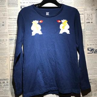 グラニフ(Graniph)のgraniph グラニフ ロンT サイズSS 刺繍(Tシャツ/カットソー(七分/長袖))