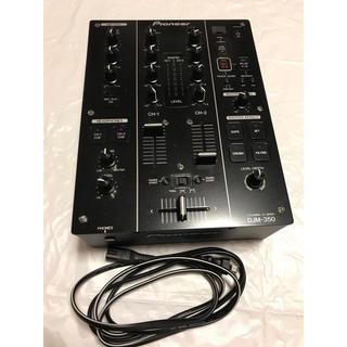 パイオニア(Pioneer)の美品 Pioneer ミキサー DJM-350(DJミキサー)