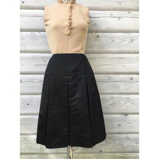 ナネットレポー(Nanette Lepore)のナネット  レポ ー  ボックスプリーツ  スカート(ひざ丈スカート)