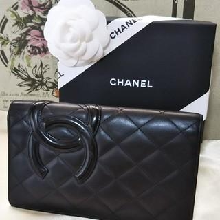 シャネル(CHANEL)の美品  CHANEL  カンボンライン  長財布(財布)