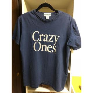 ササフラス(SASSAFRAS)のササフラス sassafras  Tシャツ Mサイズ ネイビー(Tシャツ/カットソー(半袖/袖なし))