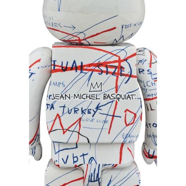 MEDICOM TOY(メディコムトイ)のベアブリック JEAN-MICHEL BASQUIAT #2 100%&400% エンタメ/ホビーのフィギュア(その他)の商品写真