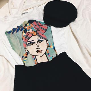 ZARA - ZARA プリントTシャツ