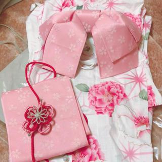 ( 期間限定SALE ) 浴衣 ピンク(浴衣)