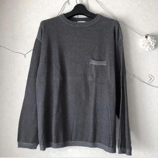 ジーユー(GU)のGU ビッククルーネックセーター(Tシャツ/カットソー(七分/長袖))