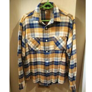 シュガーケーン(Sugar Cane)のSUGAR CANE ネルシャツ サイズL シュガーケーン(シャツ)