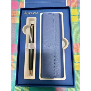 ウォーターマン(Waterman)のwaterman ボールペン ペンケース付 新品未使用(ペン/マーカー)