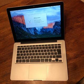 マック(Mac (Apple))のMacBook  pro (13-inch,Mid2009) SSD128GB(ノートPC)