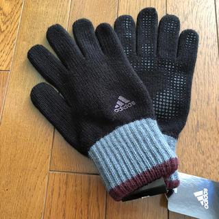 アディダス(adidas)の今だけ値下げお買い得   アディダス    メンズ手袋   新品タグつき(手袋)