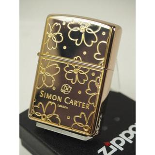 ジッポー(ZIPPO)のZippo Simon Carter(サイモンカーター)金 SCP-021(タバコグッズ)