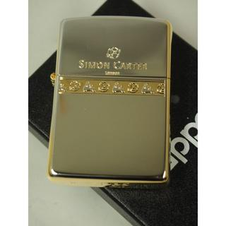 ジッポー(ZIPPO)のZippo Simon Carter(サイモンカーター)金銀 SCP-027(タバコグッズ)