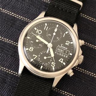 シン(SINN)のSINN  356  フリーガー  クロノグラフ 自動巻(腕時計(アナログ))