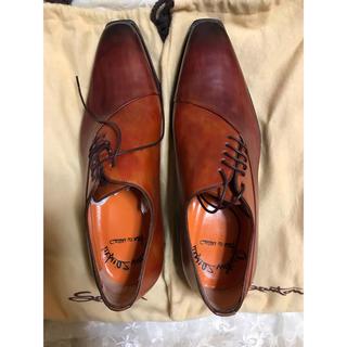 サントーニ(Santoni)の[新品]ビジネスシューズ 革靴❣️santoni  (4 2/1)(ドレス/ビジネス)