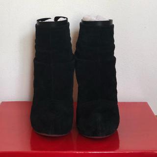 コメックス(COMEX)のCOMEX ALTRO スウェードショートブーツ  黒(ブーツ)