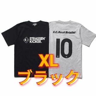 ソフ(SOPH)のxl サイズ 送料込み fcrb × strassen kicker コラボ(Tシャツ/カットソー(半袖/袖なし))