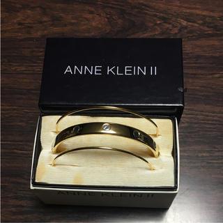 アンクライン(ANNE KLEIN)の新品未使用‼️✨ANNE KLEIN ll バングル✨(ブレスレット/バングル)