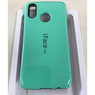 94ebb4f11b 耐衝撃iface mall Huawei P20 liteケース ライトグリーン(Androidケース)