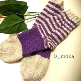 chic socks_purple.g_(レッグウェア)