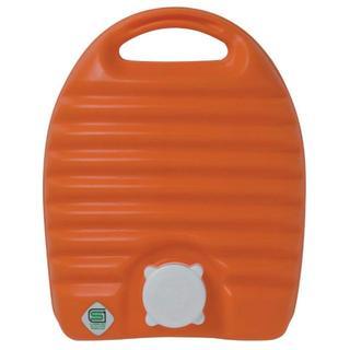 安全・シンプルなんですが、意外と役に立つ湯たんぽ 2.6L 袋付き オレンジ(その他)