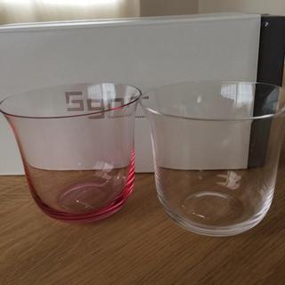スガハラ(Sghr)の最終値下げスガハラガラスペア新品グラス(グラス/カップ)