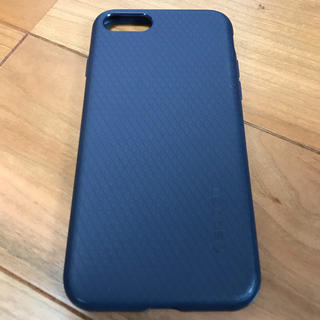 シュピゲン(Spigen)のiPhone 7 8 ケース カバー spigen シュピゲン ネイビー 紺(iPhoneケース)
