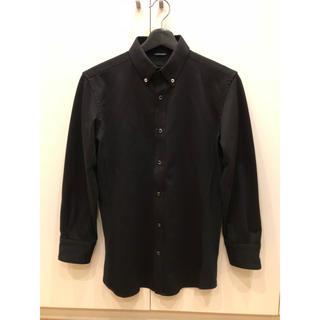 ジュンハシモト(junhashimoto)の【junhashimoto】ボタンダウンシャツ size 2 black (シャツ)