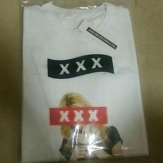 ジィヒステリックトリプルエックス(Thee Hysteric XXX)の希少M 完売 新作 GOD SELECTION XXX ホワイト (Tシャツ/カットソー(半袖/袖なし))