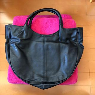 アニタアレンバーグ(ANITA ARENBERG)の美品 ANITAARENBERG 黒 バッグ(ハンドバッグ)