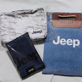 ジープ(Jeep)のJeep 非売品 マイクロファイバータオル トラベルオーガナイザー セット(その他)