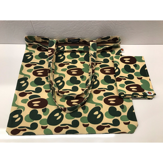 A BATHING APE - a bating ape マイロカモ ランチョンマット エイプ 迷彩