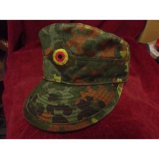 BWドイツ軍/連邦軍*フレクターン迷彩戦闘帽*60cm(実物)(戦闘服)