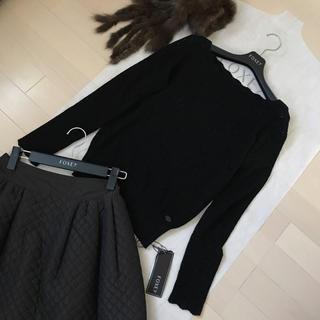 フォクシー(FOXEY)の新品♡フォクシー♡長袖ニット38(ニット/セーター)