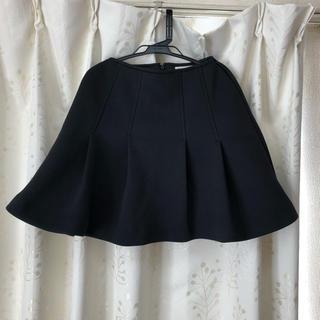 オペーク(OPAQUE)の黒ミニスカート(ミニスカート)