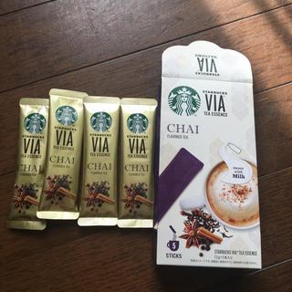 スターバックスコーヒー(Starbucks Coffee)のうずら様専用 スタバ ティーエッセンスチャイ(茶)