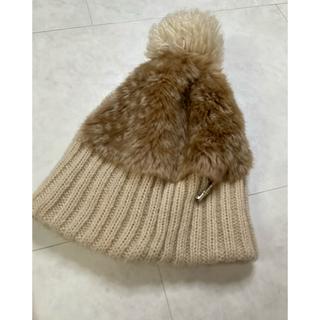 マリークワント(MARY QUANT)のマリークワント ニット帽(ニット帽/ビーニー)