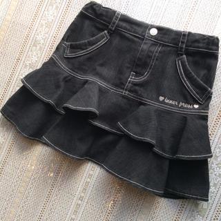 インナープレス(INNER PRESS)の‼️1300円‼️❤️可愛い❤️INNER PRESS 130 デニムスカート(スカート)