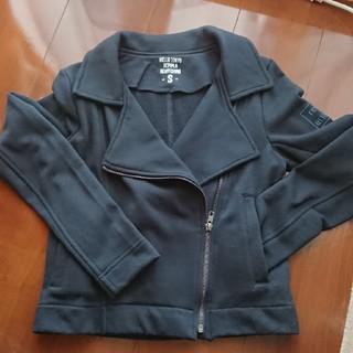 レピピアルマリオ(repipi armario)のレピピ ライダース風アウター(ジャケット/上着)