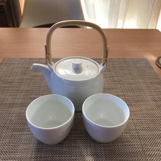 ハクサントウキ(白山陶器)の白山陶器 急須 湯呑み セット(食器)